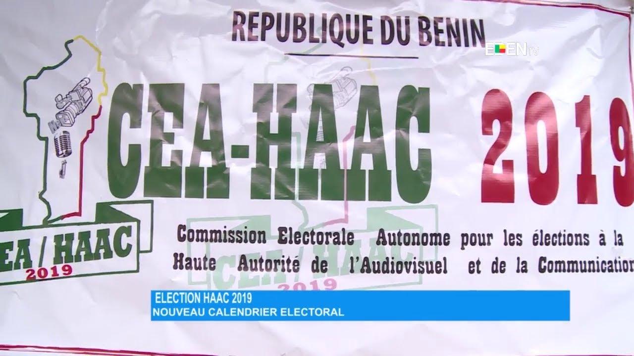Calendrier Electoral 2019.Election A La Haac 2019 Nouveau Calendrier Electoral