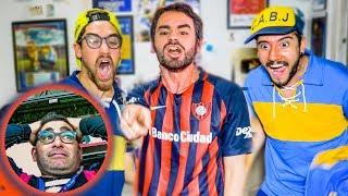 San Lorenzo vs Boca | REACCIONES de Amigos | Torneo Argentino 2019