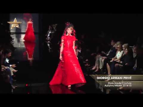 GIORGIO ARMANI PRIVÉ | Paris Haute Couture Otoño Invierno 2014