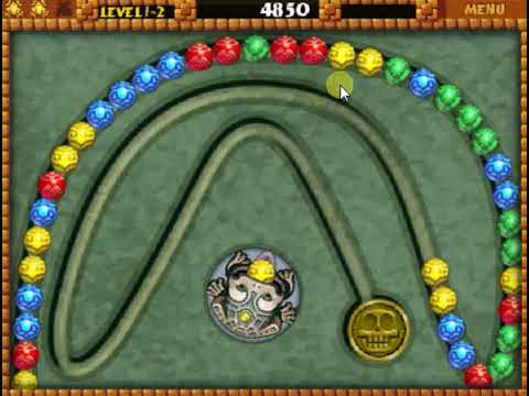 Zuma Deluxe Online A Preview Of The Online Game Youtube