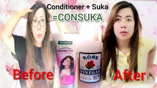 CONDITIONER + SUKA ¦ SOLUSYON SA PROBLEMA NG BUHOK MO!