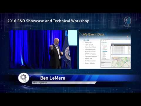 2016 R&D Showcase: Project iVe: Forensics for Vehicle Infotainment and Navigation Systems