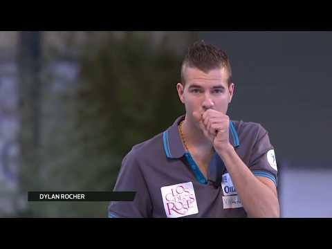 Pétanque:  PPF 2017 finale du tir de précision ROCHER vs MOLINAS