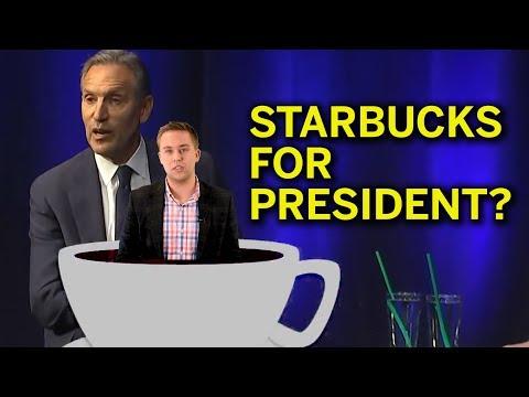 Starbucks Owner Runs And Dems Aren't Happy