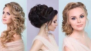 видео Высокие свадебные прически для невесты: варианты и фото