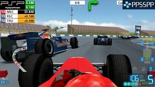 F1 06 - PSP Gameplay 1080p (PPSSPP)