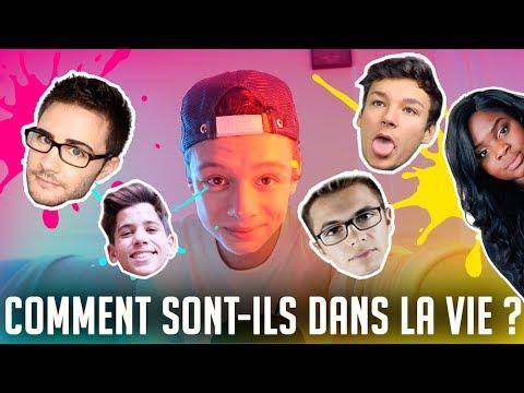 COMMENT SONT-ILS DANS LA VIE !? ( Cyprien , Sulivan , Anthonin , Gloria et Dylan )