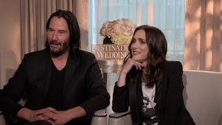 Keanu Reeves and Winona Ryder Reveal Their Crushes on Each Other (FULL INTERVIEW)