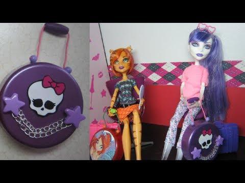Manualidades para muñecas: Haz una maleta para tus muñecas Monster ...