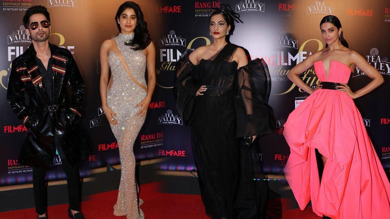 Filmfare Awards 2019 Full Show | Shahid Kapoor | Deepika Padukone | Sonam  Kapoor