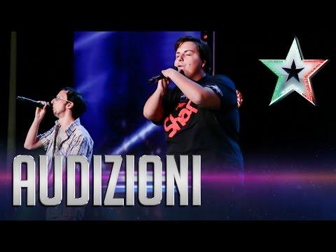 Il messaggio di speranza di Shark and Groove | Italia's Got Talent 2015