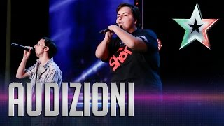 Il messaggio di speranza di Shark and Groove | Italia's Got Talent 2015