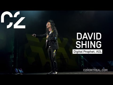 David Shing on Over Saturation of Information | C2 Montréal 2015