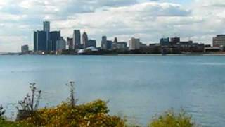 A Driving Tour of Detroit: Belle Isle and View of Downtown