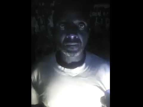 A shocking video has emerged in Cameroon of a dozen detainees being held in a dark cell.