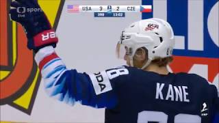 Česko - USA čtvrtfinále MS 2018