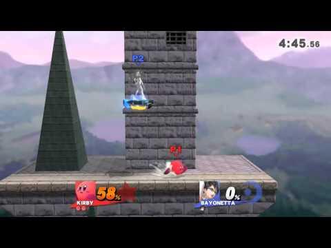 Bayonetta Combos vs Kirby Combos