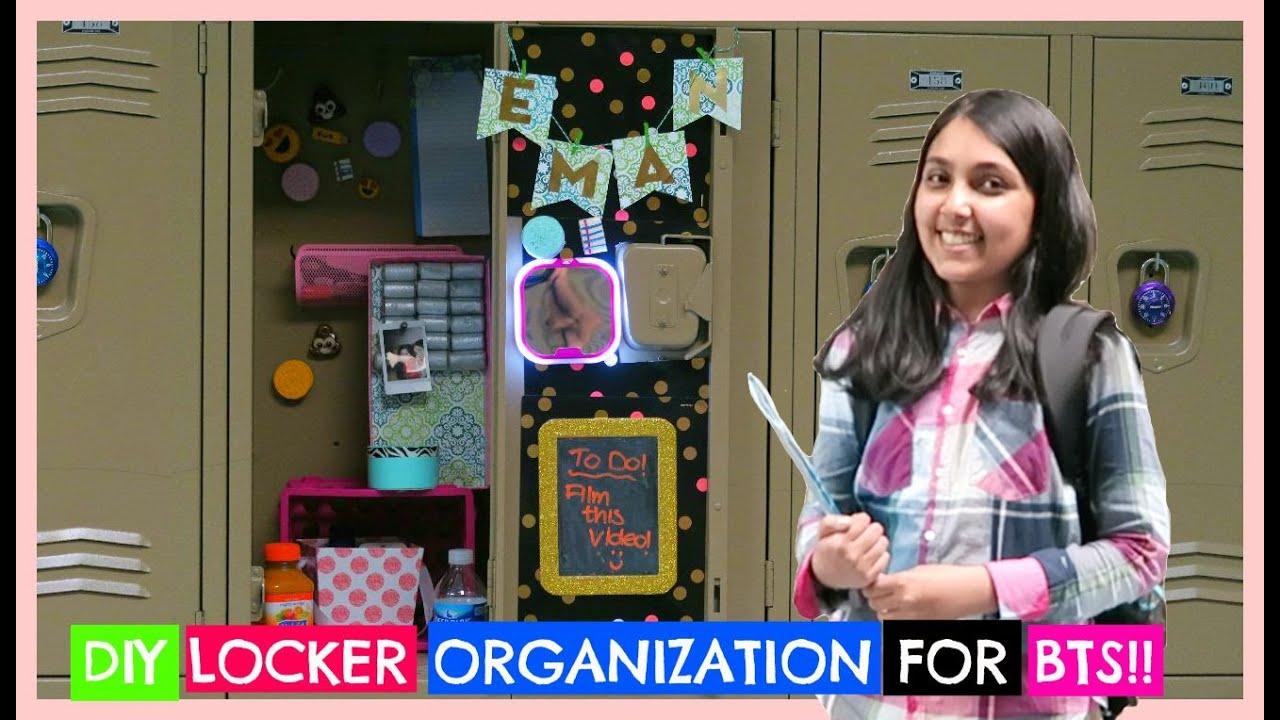 Easy diy locker organization decor for back to school youtube easy diy locker organization decor for back to school solutioingenieria Gallery