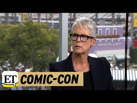 ComicCon 2018: Halloween: Jamie Lee Curtis Says The Real World Is Scarier Than A Guy In A Mask