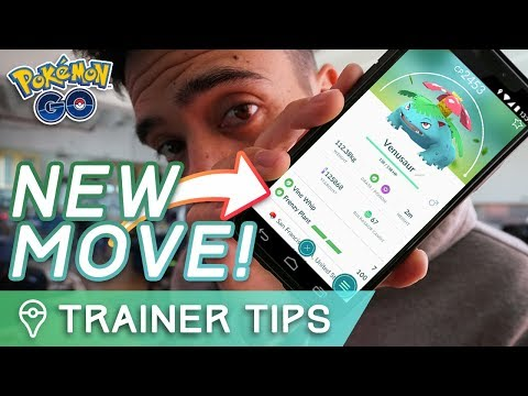 BREAKING NEWS: VENUSAUR'S EXCLUSIVE NEW MOVE IS FRENZY PLANT | Pokémon GO Community Day