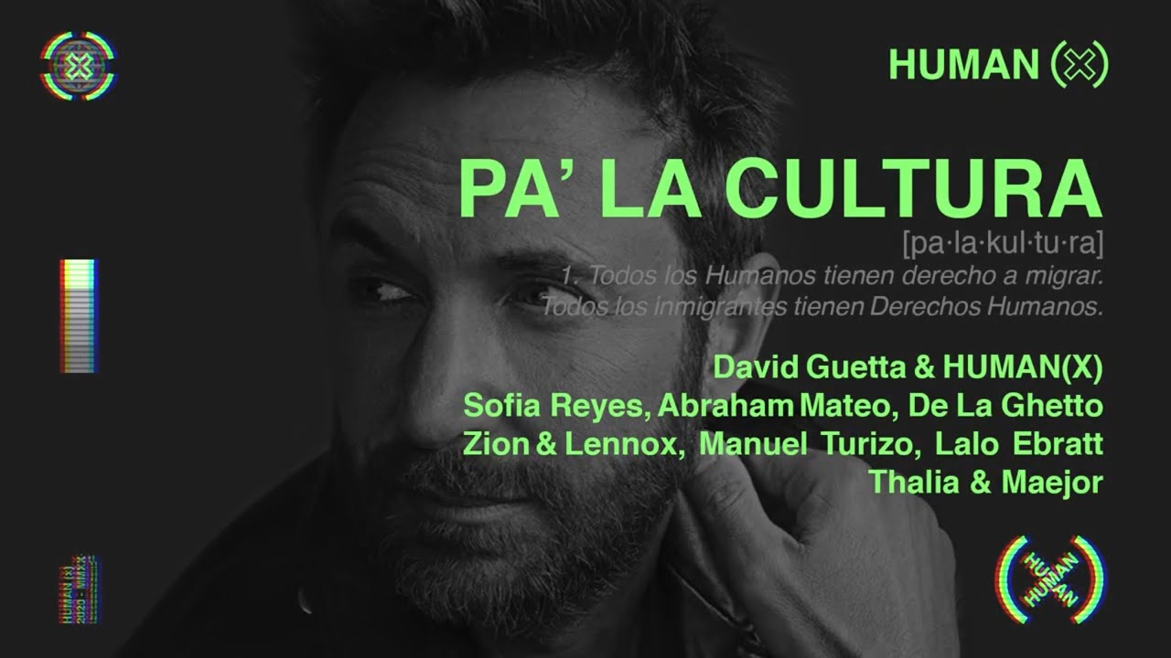 PA' LA CULTURA (official audio) - David Guetta, Human(X) ft. Various Artists