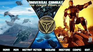 Universal Combat - The Lyrius Conflict Live Stream