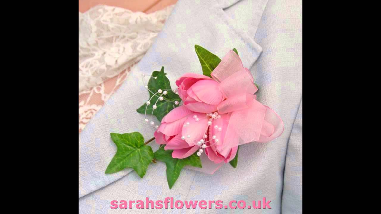 Stunning Hand Made Quality Silk Flower Wedding Corsages Choose