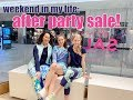 exciting weekend in my life: lilly pulitzer after party sale & hockey game!