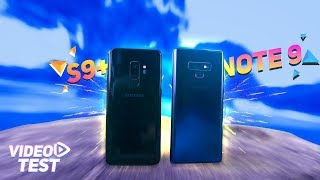 Samsung Galaxy Note 9 vs Galaxy S9 Plus | ULTIMATE Video Test