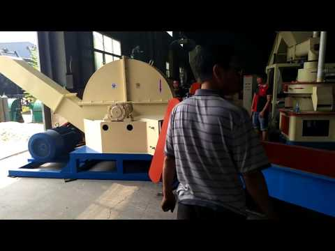 round disc large  wood chipper industrial disc type wood chipper for wood chips making