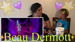 (Maria' Reacts) Beau Dermott Britain's Got Talent 2016