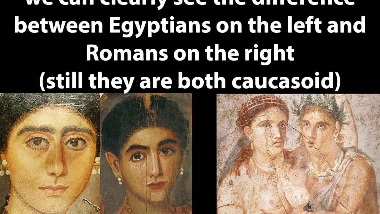 How Ancient Egyptians looked like