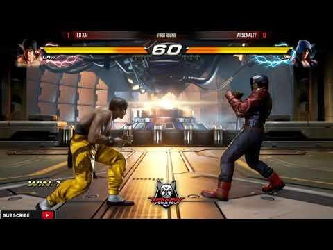 Tekken 7 World Tour   JIN (Arsenalty) vs LAW (Xia)   VSFighting 2017