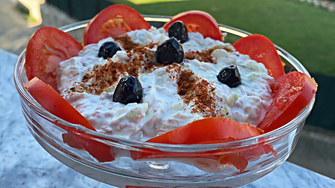 Sallat e shpejt verore Nefis yaz salatasi tarifi