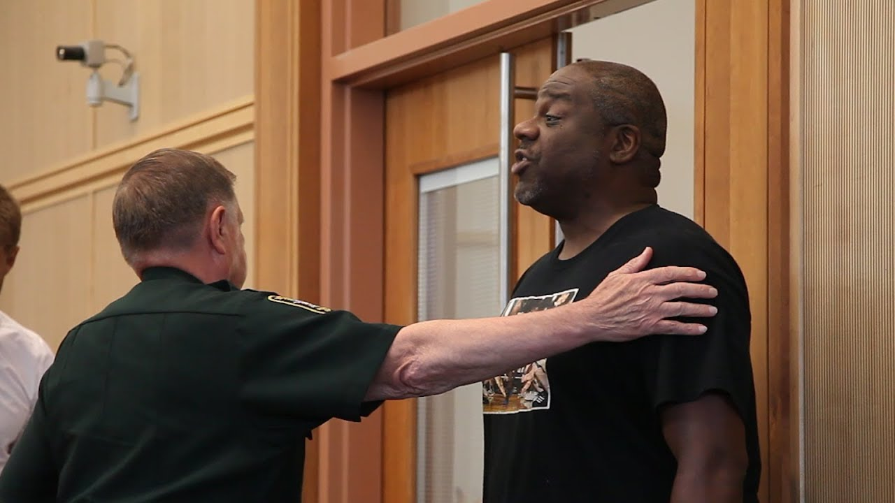 Shawn Pratt speaks up during Max Misch hearing