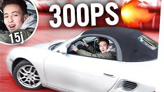 15-Jähriger RAST mit 300PS AUTO