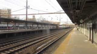 Amtrak Northeast Regional, Pennsylvanian, Acela Express & Keystone Trains at Trenton With The ACS-64