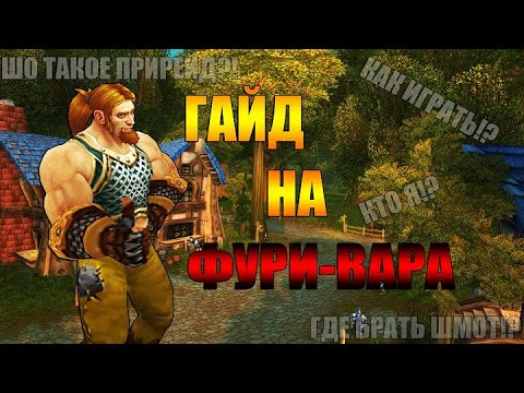 World of Warcraft:Classic - ГАЙД НА ФУРИ-ВОИНА  (Билды, прирейд, чарки)