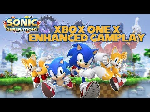 Sonic Generations Xbox One X Enhanced Gameplay (4K)