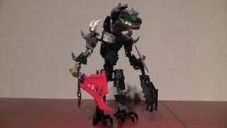 Lego Chima 70203 Chi Cragger + 70204 Chi Worriz = Bi Model Chi Cragger