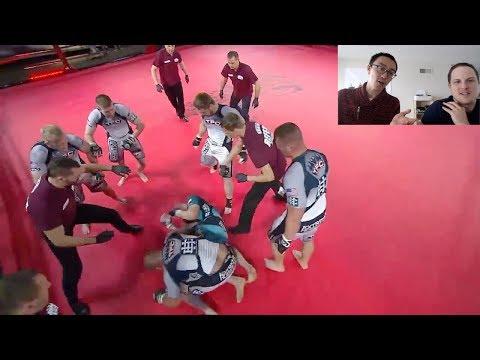 USA MMA vs Polish MMA - 5 vs 5 Team Mixed Martial Arts (TFC)