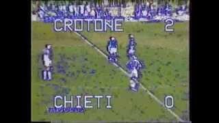 Fc Crotone - Chieti 2-0 (Serie C2 1997-98) Balestrieri Maurizio Goal