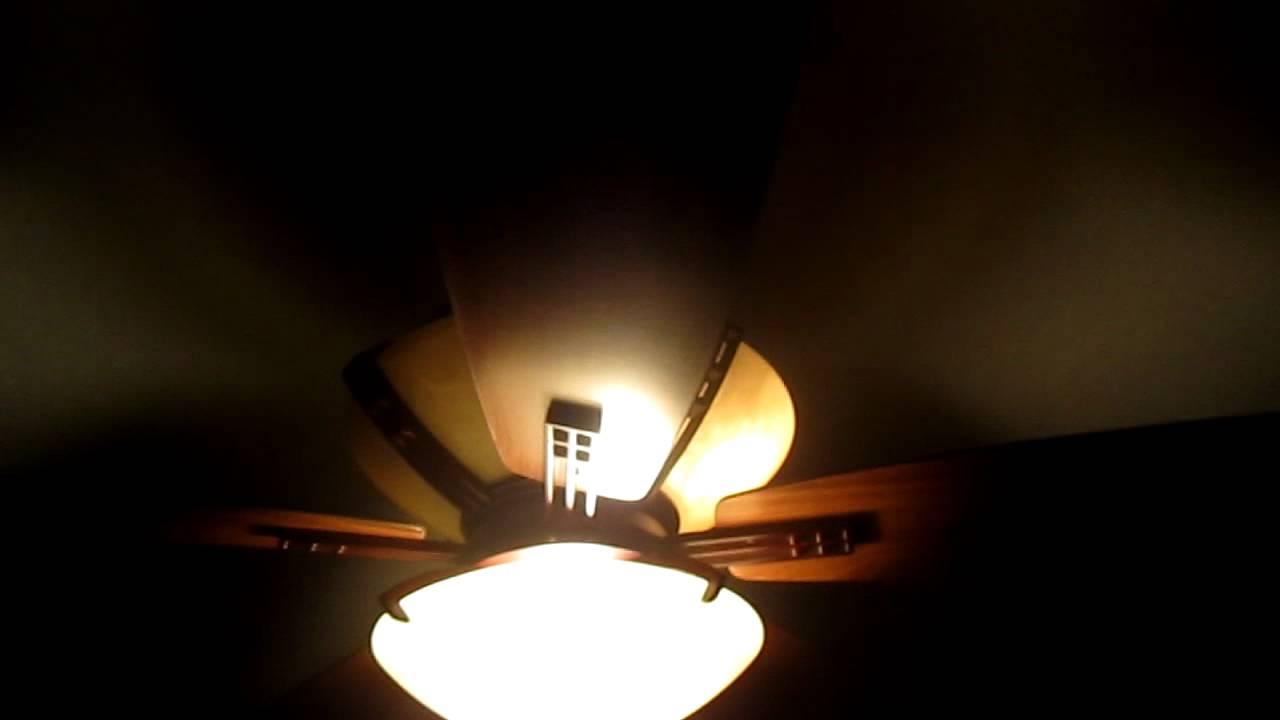 Hampton Bay Miramar Ceiling Fan Youtube