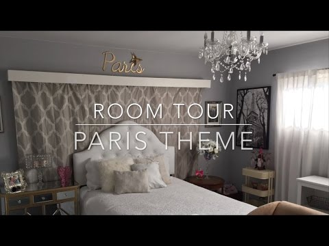 Room tour/Paris theme