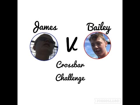 CROSSBAR CHALLENGE!!! - | Featuring Bailey Pearce |