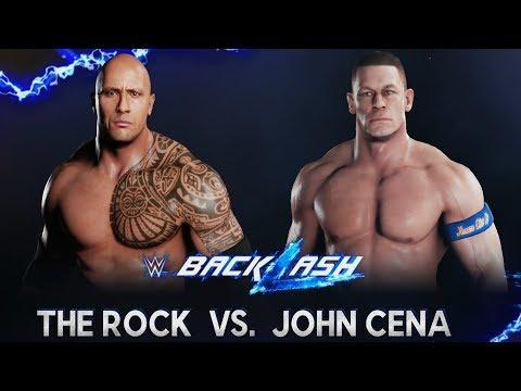 wwe-2k18---the-rock-vs-john-cena---gameplay-(ps4-hd)-[1080p60fps]