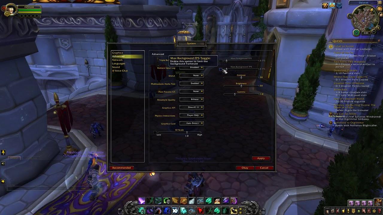 World Of Warcraft Mouse Sensitivity Glitch FIX!