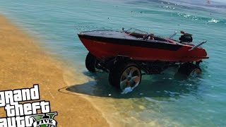 Monster Truck Boat Mobile Mod - GTA 5 PC