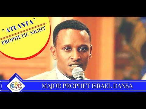ETHIOPIAN MAJOR PROPHET ISRAEL DANSA ATLANTA GEORGINA PROPHETIC NIGHT 04 DEC 2017
