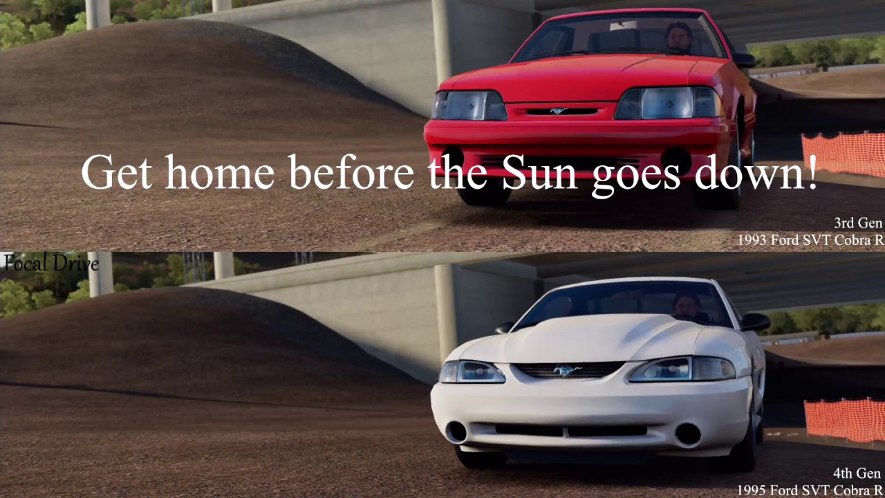 Horizon 3 3rd vs 4th generation mustang get home before the sun goes down